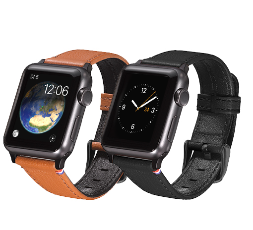 Decoded Leather strap Design