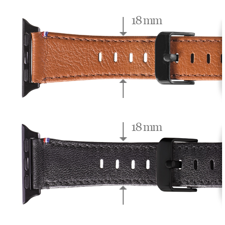 Decoded Leather strap Colors