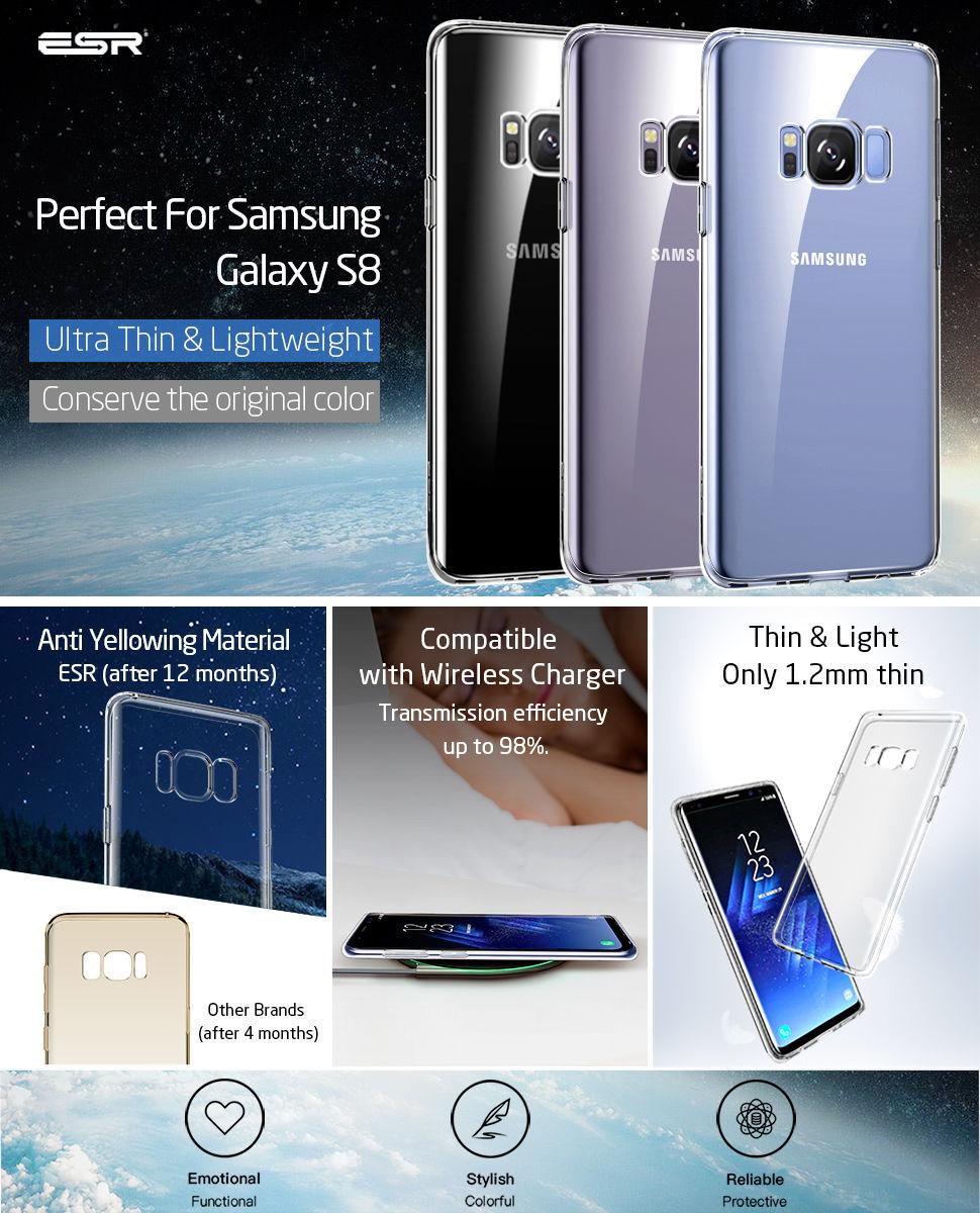 ESR Essential Zero case for Samsung Galaxy S8, Gohub Shop