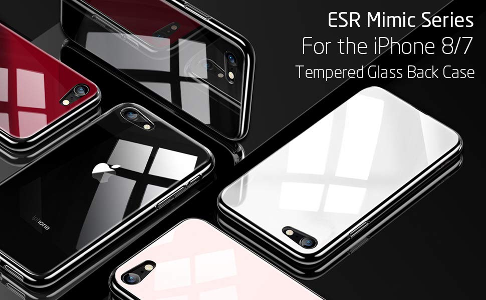 ESR Mimic 9H Tempered Glass case for iPhone 8 / 7, Gohub Shop