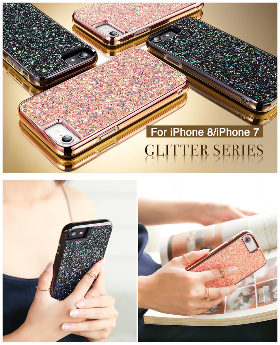 Gohub Shop Glitter-iPhone 8/7