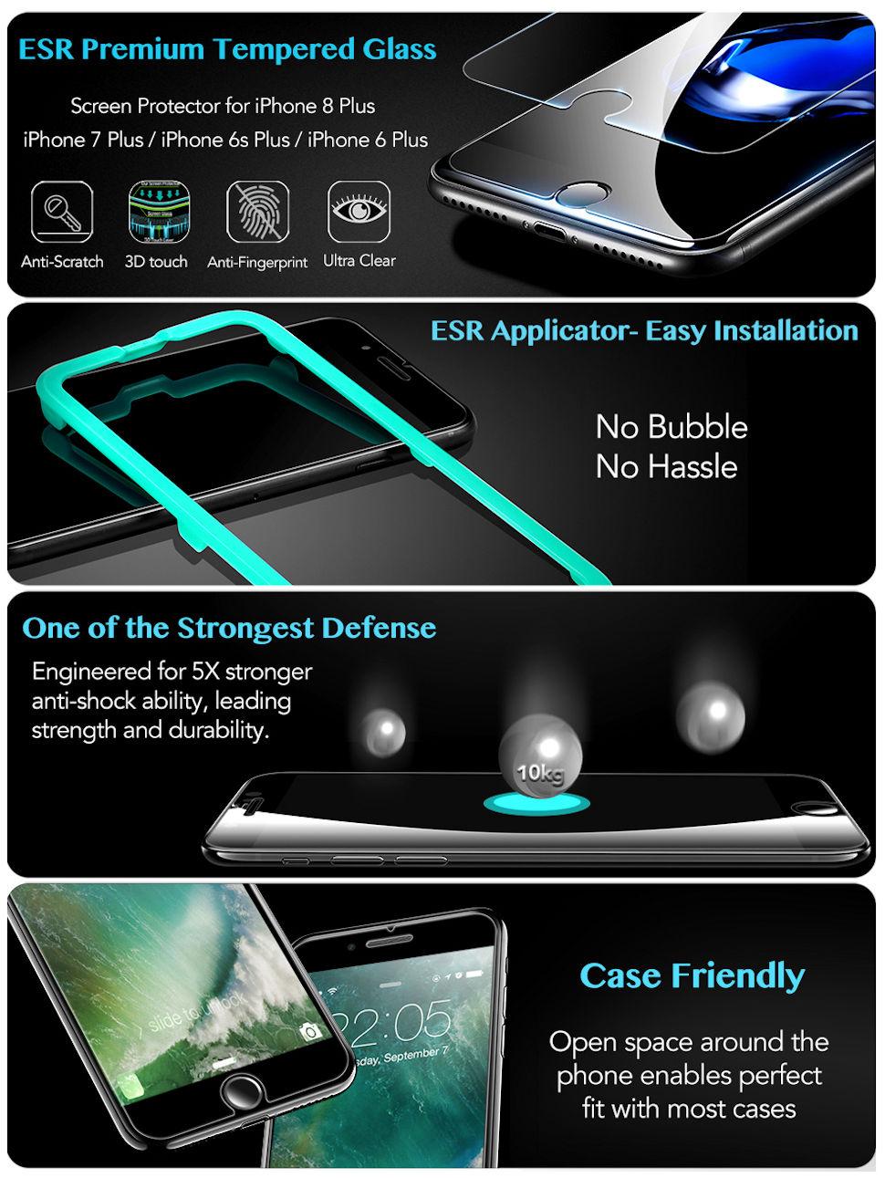 Gohub-Shop-iPhone Screen Protector-iPhone 8/7/6s/6-Glass Film