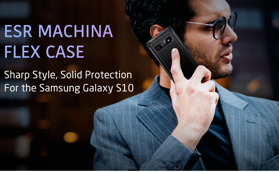 Carcasa ESR Machina Flex Samsung Galaxy S10 Gohub Shop