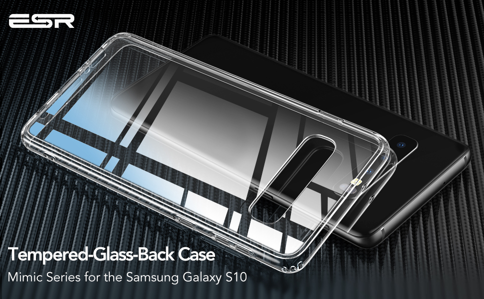 ESR Mimic case for Samsung Galaxy S10, Clear Gohub Shop