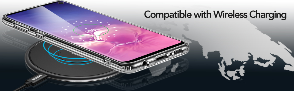 ESR Mimic case for Samsung Galaxy S10, Clear Gohub Shop