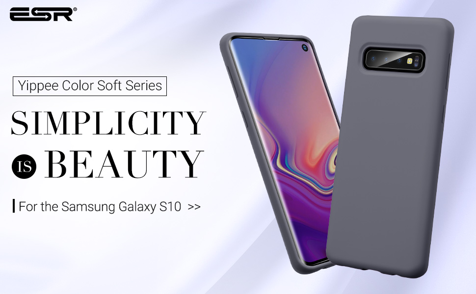 Carcasa ESR Yippee Color Samsung Galaxy S10, Grey Gohub Shop