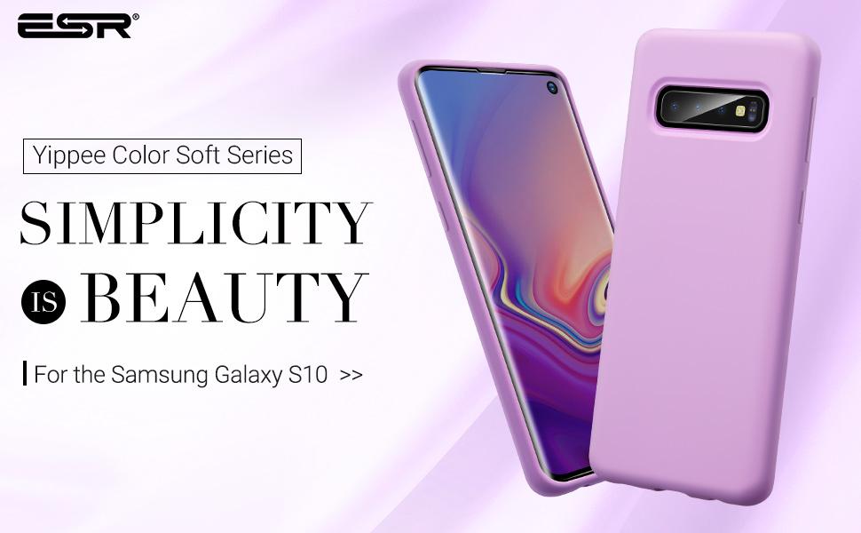 Carcasa ESR Yippee Color Samsung Galaxy S10, Purple Gohub Shop