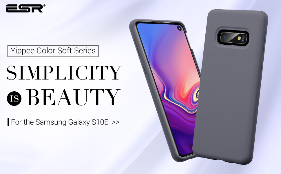 Carcasa ESR Yippee Color Samsung Galaxy S10e, Grey Gohub Shop