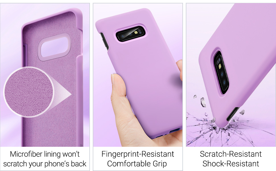 Carcasa ESR Yippee Color Samsung Galaxy S10e, Purple Gohub Shop