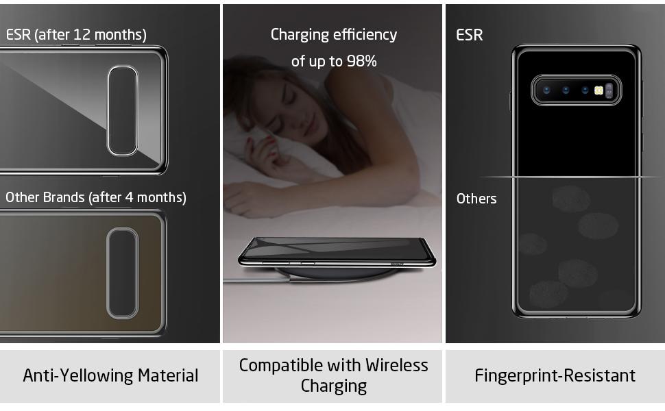 Husa slim ESR Eseential Twinkler Samsung Galaxy S10, Gohub Shop