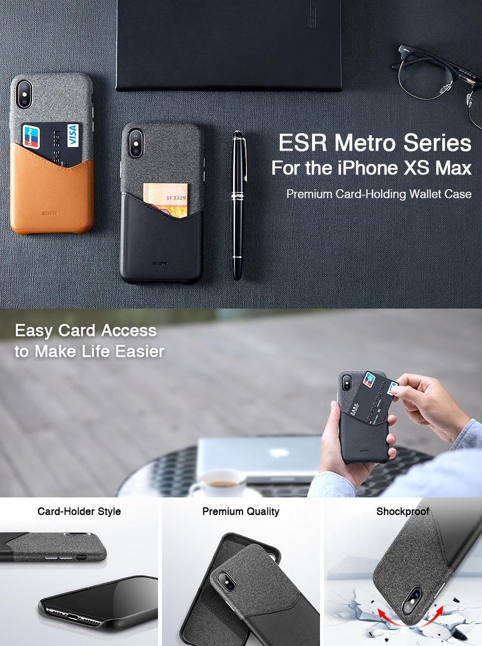 ESR Metro case for iPhone XS Max, Gohub Shop