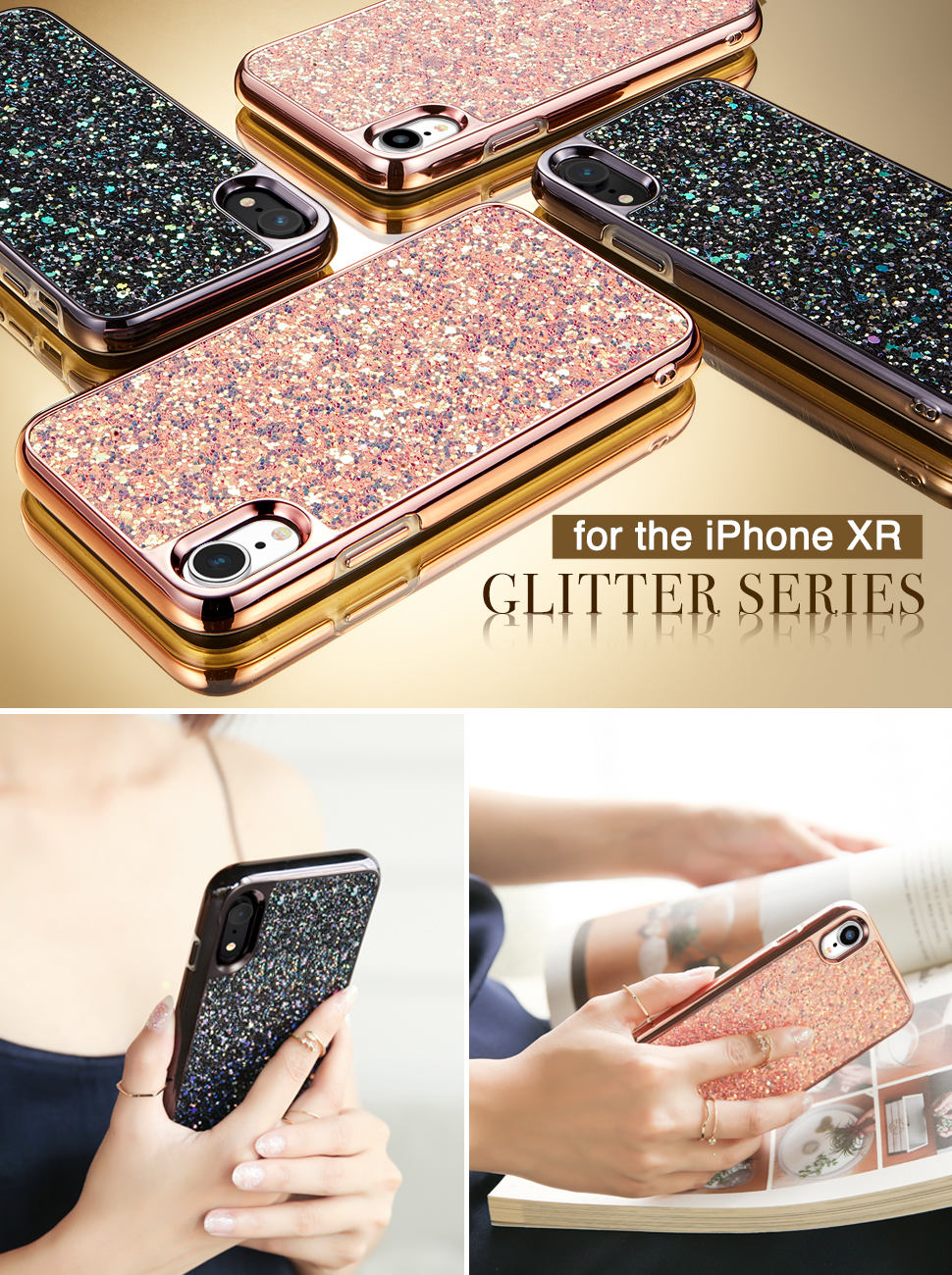 Gohub-Shop-iPhone XR-Glitter