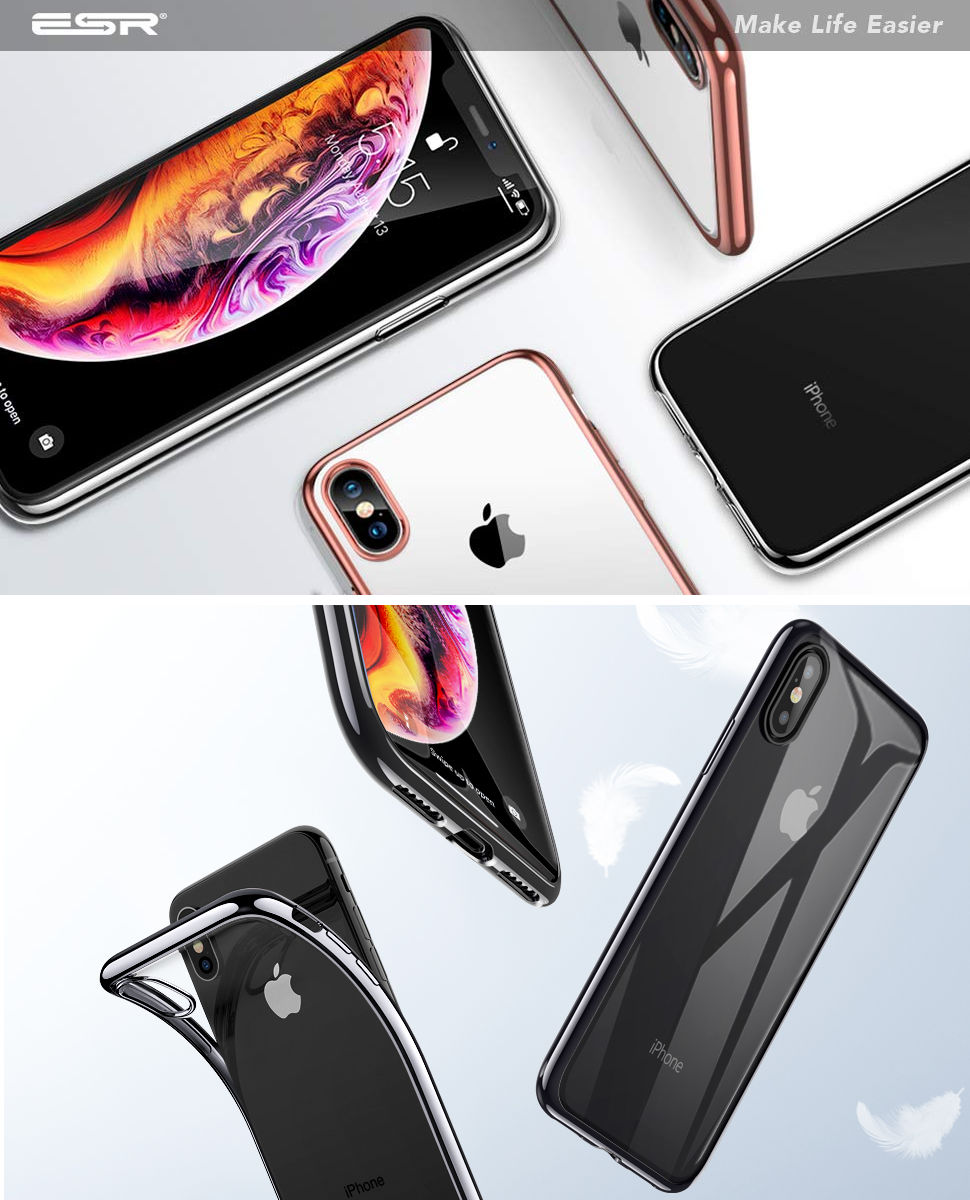 ESR Essential Twinkler slim cover for iPhone XS Max, Gohub Shop