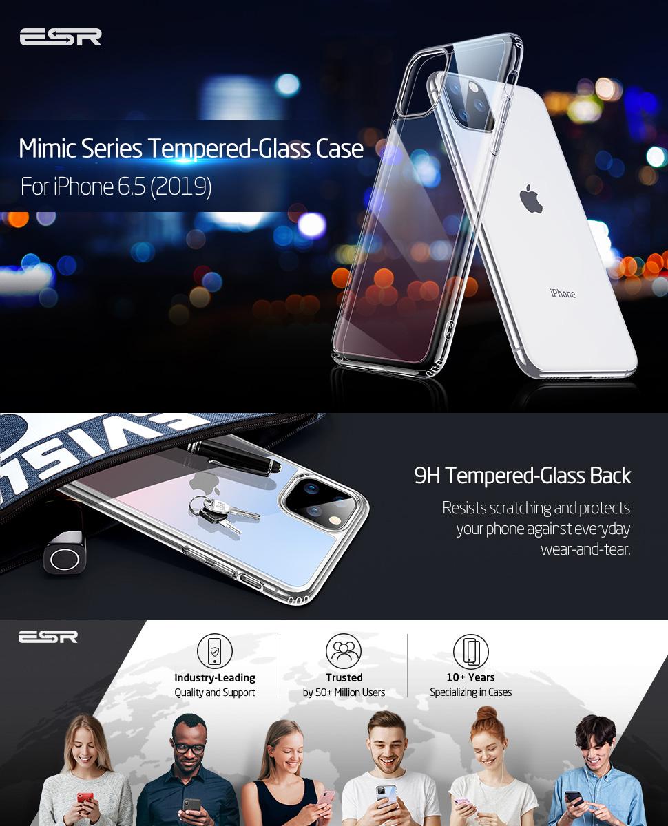 ESR Mimic case for iPhone 11 Pro Max, Gohub Shop