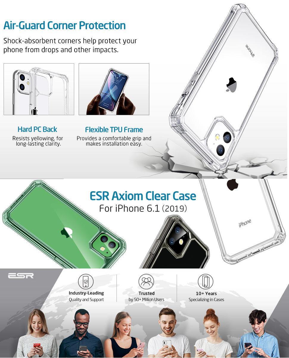 ESR Air Armor Case for iPhone 11, Gohub Shop