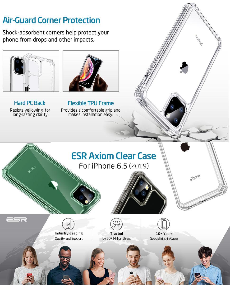 ESR Air Armor Case for iPhone 11 Pro Max, Gohub Shop