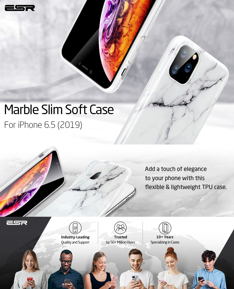 ESR Marble case for iPhone 11 Pro Max, Gohub Shop