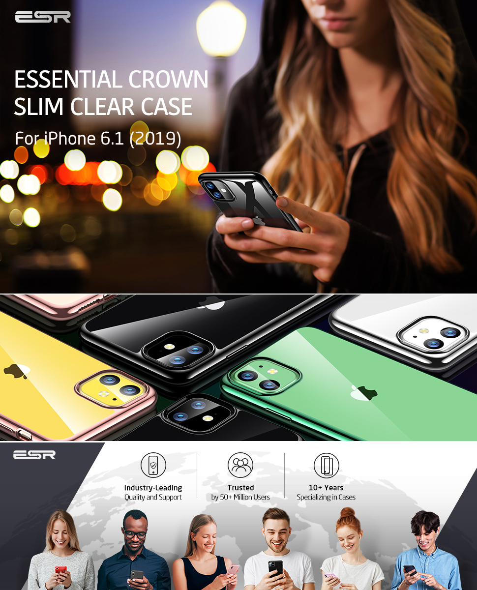 ESR Essential Twinkler slim cover for iPhone 11, Gohub Shop