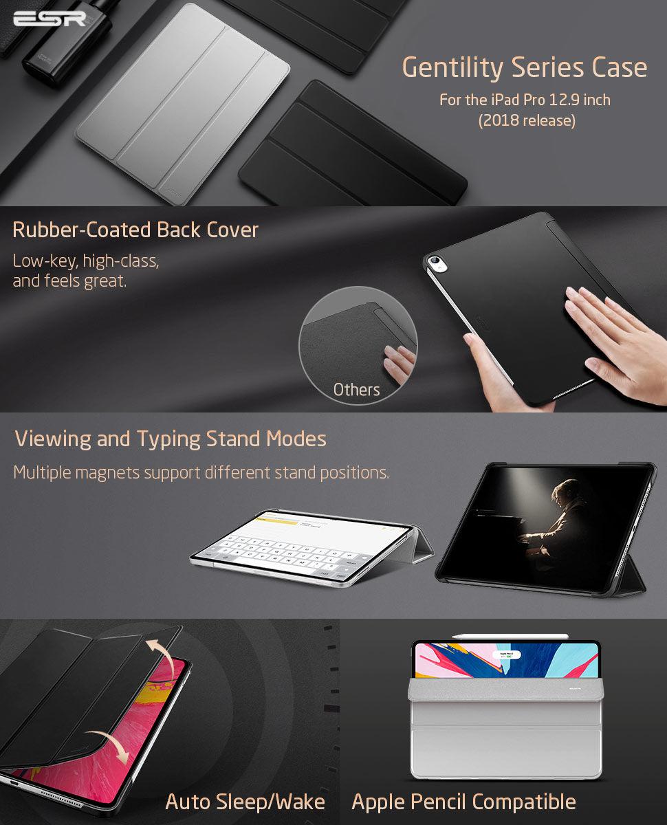 Gohub Shop iPad Pro 12.9 2018-Yippee Gentility-Black