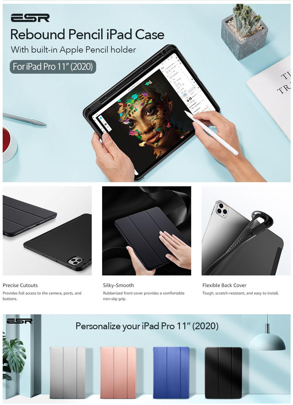 iPad Pro 11 2020-Rebound Pencil-Black