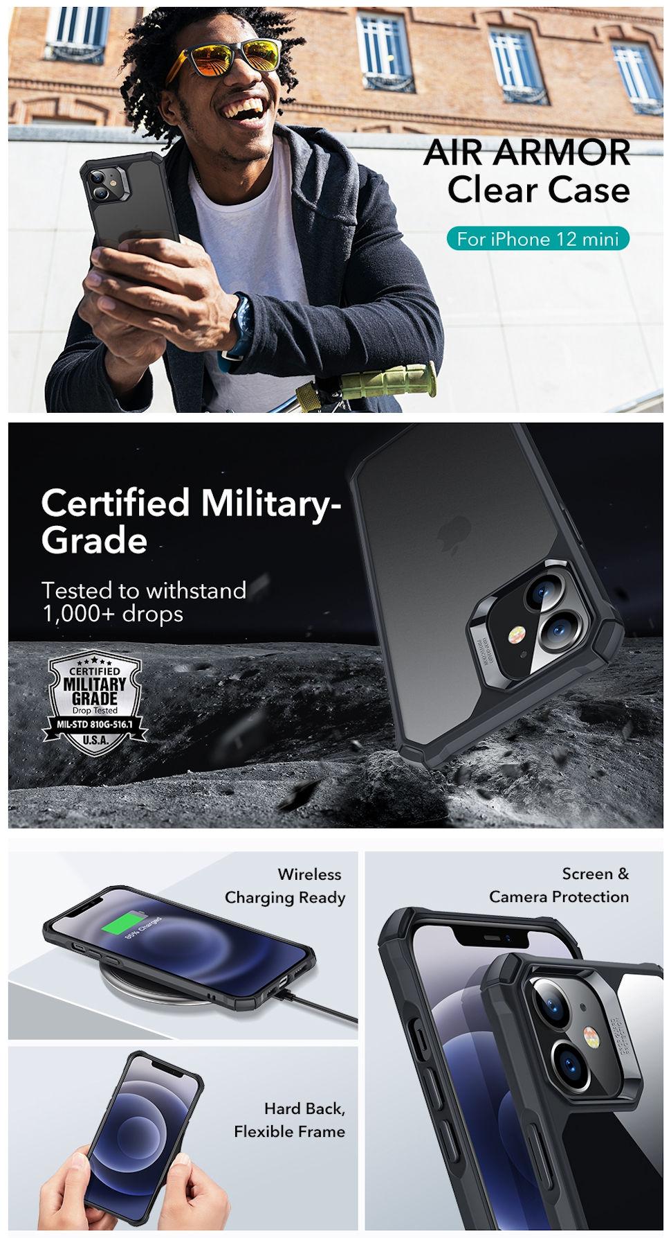 Gohub Shop - ESR Air Armor - for iPhone 12 mini