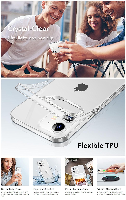 Gohub Shop - ESR Project Zero - Clear Case for iPhone 12 mini