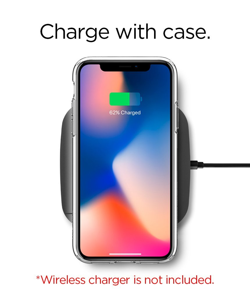 Spigen Iphone X Case Ultra Hybrid S Crystal Clear Xs Plus Simple Softcase Liquid Casing Features