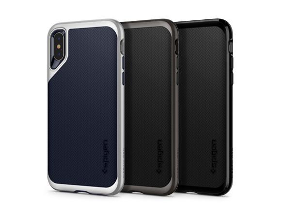 Carcasa Spigen iPhone XS Max Neo Hybrid, Jet Black Gohub