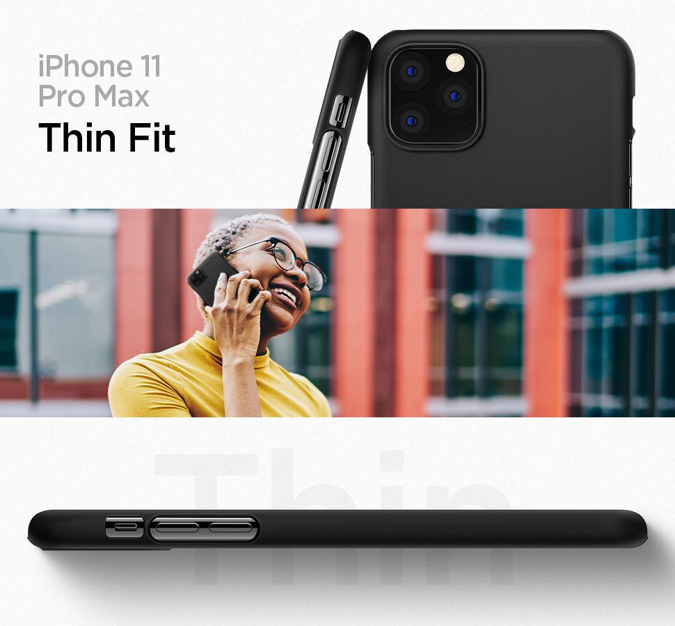 Spigen iPhone 11 Pro Max Case Thin Fit, Gohub Shop