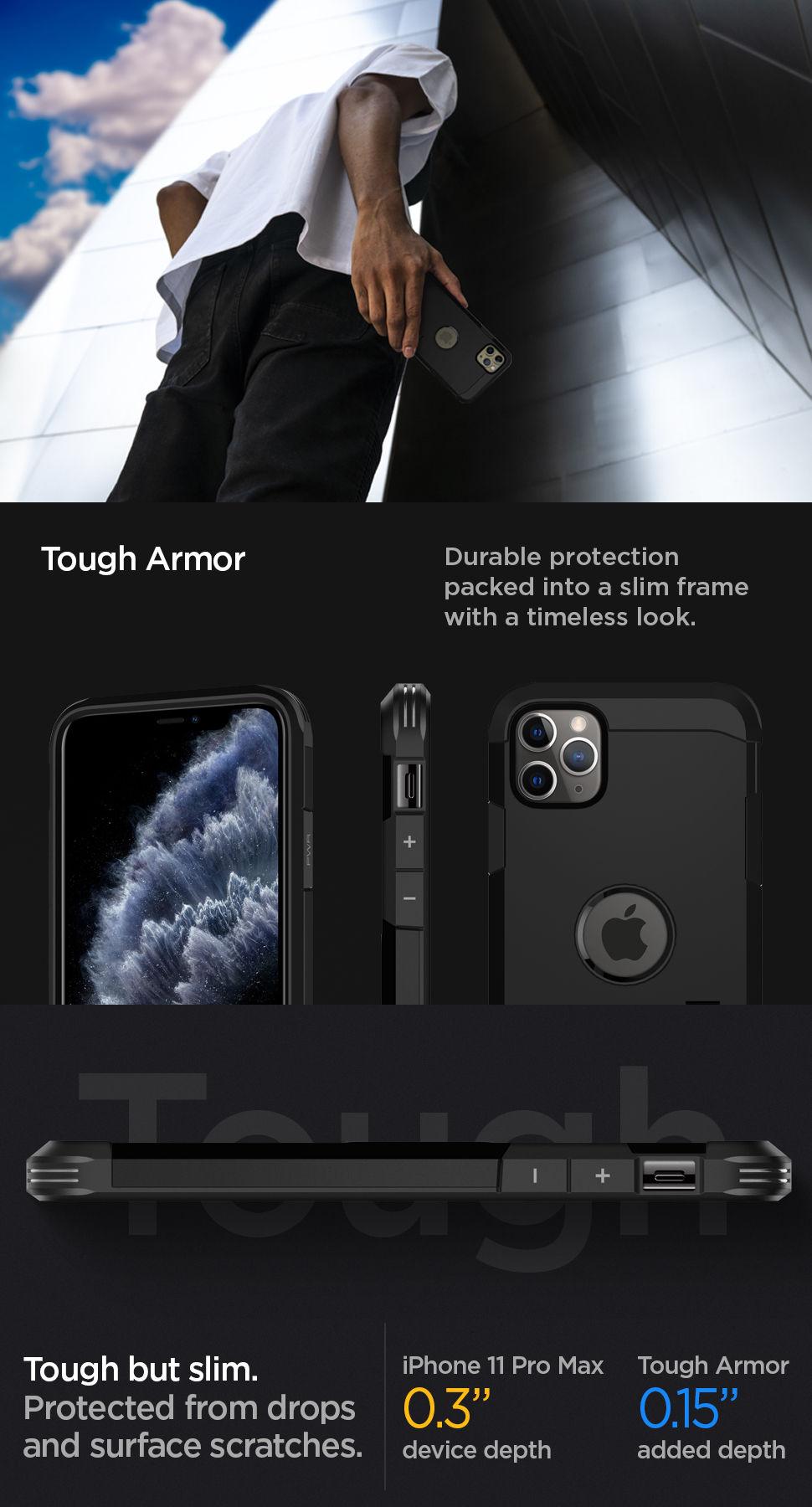 Spigen iPhone 11 Pro Max Case Tough Armor, Gohub Shop