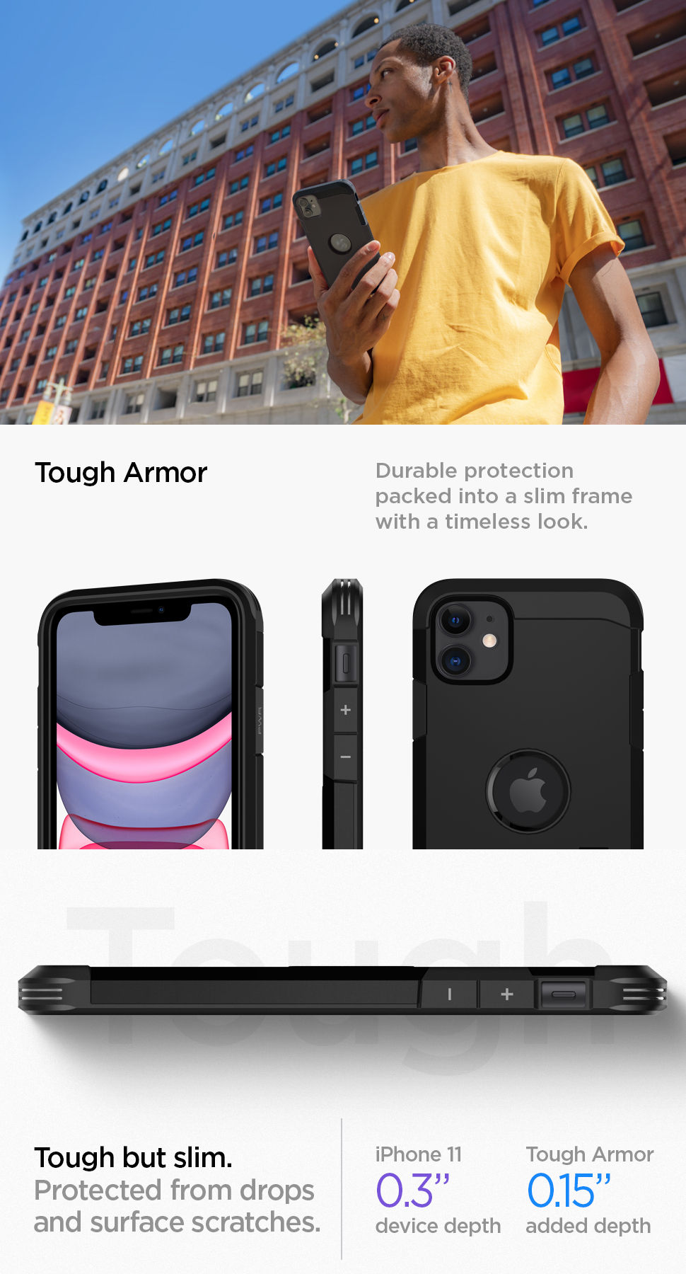 Spigen iPhone 11 Case Tough Armor, Gohub Shop